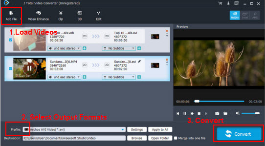 Play HEVC H.265 Videos to Panasonic TV